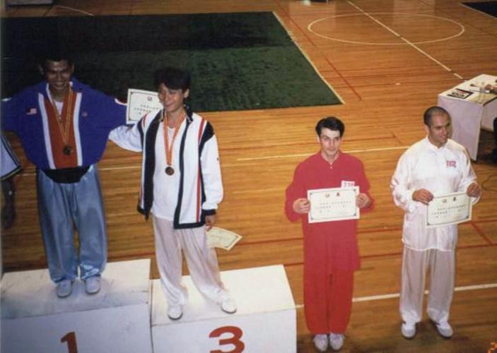 1999年Moreno北京国际太极拳大赛第四名(西方人里的第一名)