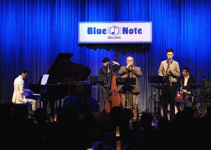 Moreno乐队在Blue Note Beijing