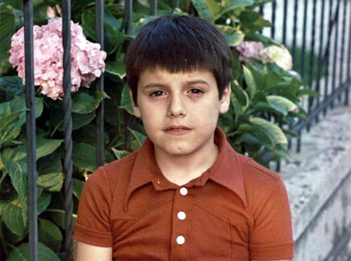 童年时代的小Moreno