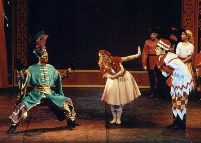 学生时代的芭蕾舞表演