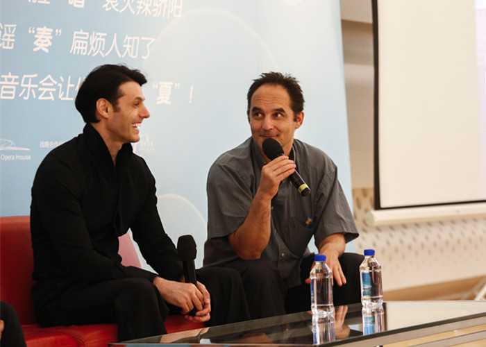 与法国著名口琴大师Laurent Maur