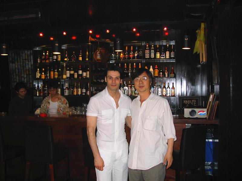 """与""""中国爵士乐教父""""刘元"""