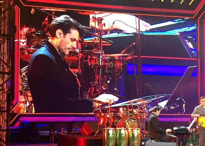 在鸟巢举行的北京现代国际鼓手节上